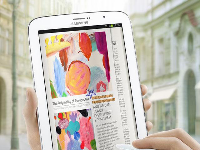 La Samsung Galaxy Note 8.0 est officielle !