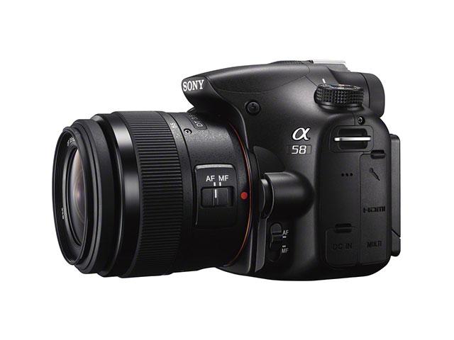 Sony SLT-A58 : les spécifications officielles