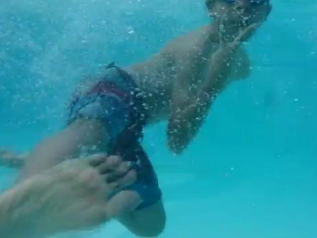 Le Sony Xperia Z sous l'eau