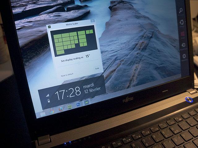Windows 8 : ajuster la taille de l'écran d'accueil et des tuiles
