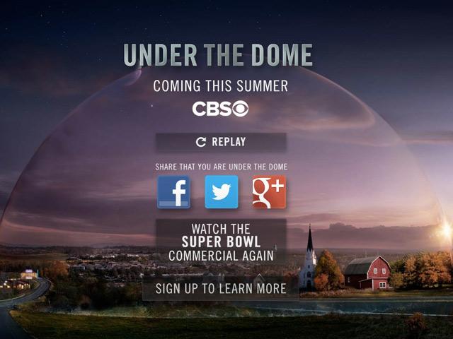 Under The Dome : un mini teaser pour la série inspirée de l'oeuvre de Stephen King