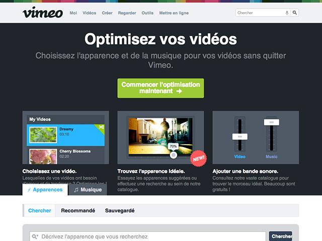 Vimeo Looks : un éditeur de vidéos pour Vimeo