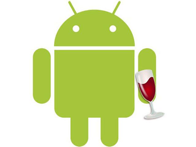 Wine bientôt disponible sur Android