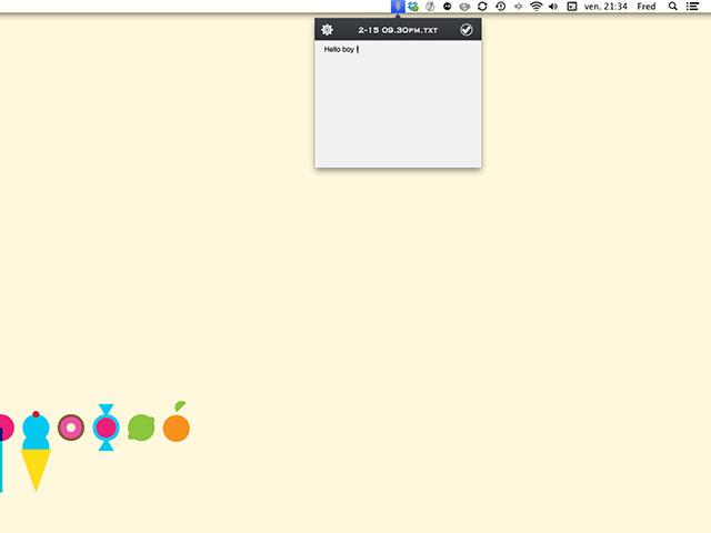 Write for Dropbox : l'utilitaire pour Mac OS