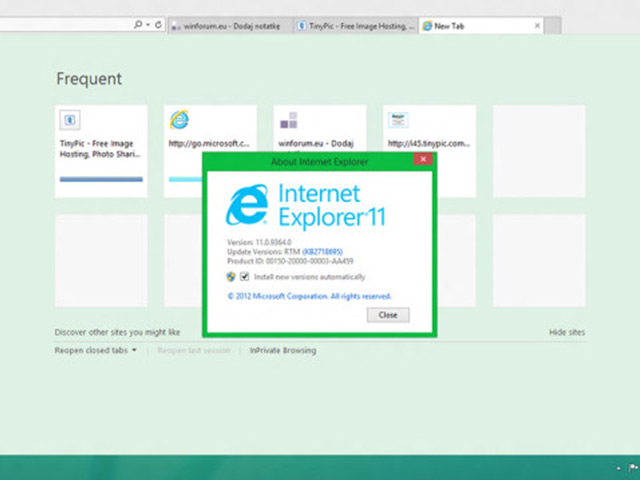 Windows Blue : Internet Explorer 11