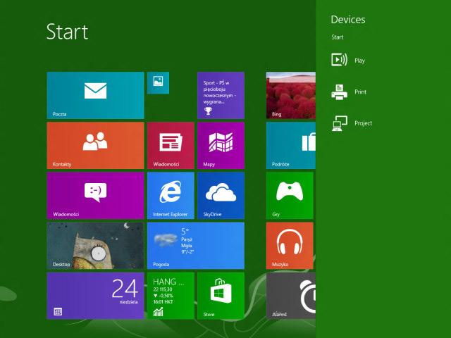 """Windows Blue : nouvelle option pour la """"Charm Bar"""""""