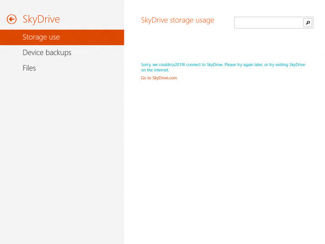 Windows Blue : SkyDrive