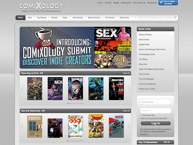 ComiXology Submit : devenez auteur de comics