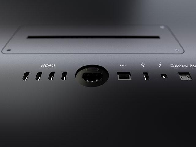 Concept iTV : une connectique complète