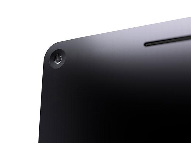 Concept iTV : le bouton d'alimentation