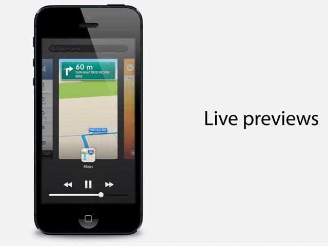 iOS 7 : un concept pour le multitâche