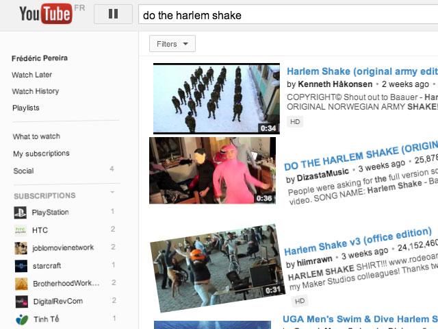 "Un nouvel ""easter egg"" pour YouTube"