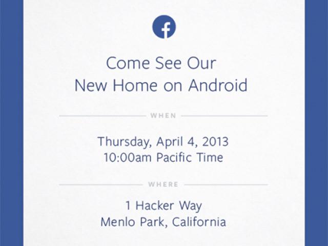 Facebook : une conférence pour le 4 avril