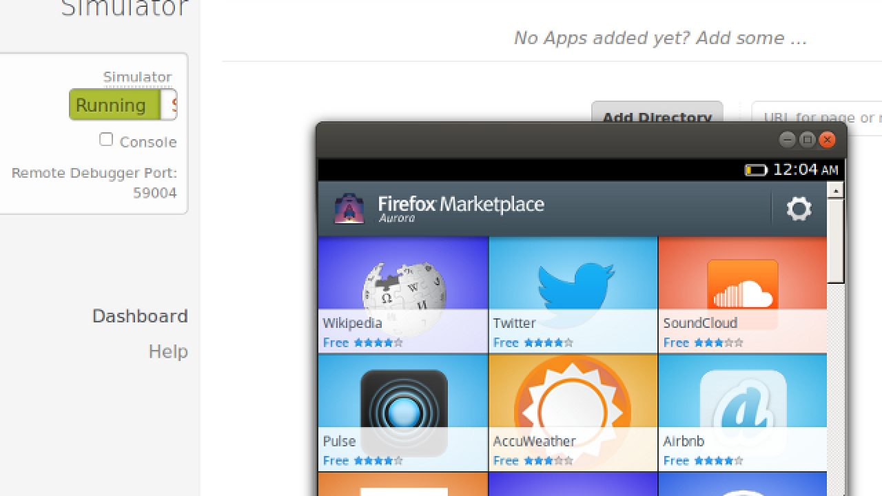 Firefox OS Simulator en version 3 0 avec de nouvelles