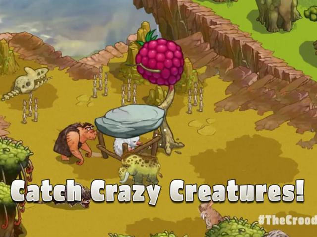 Le gameplay des Croods dévoilé
