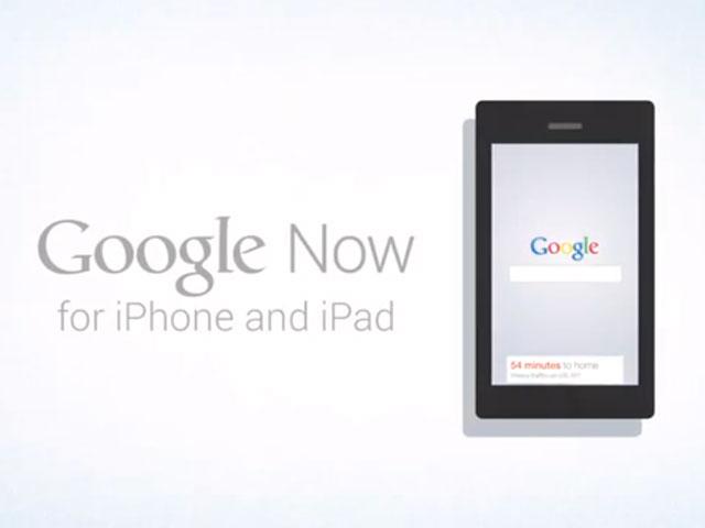 Google Now bientôt sur iOS ?