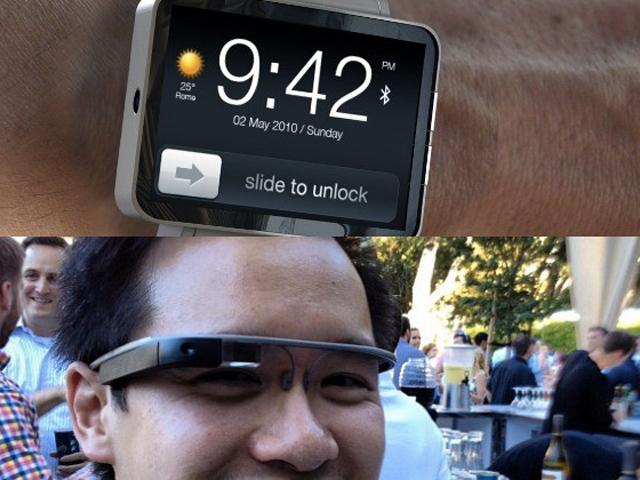 Google Glass vs iWatch : les objets connectés au pouvoir
