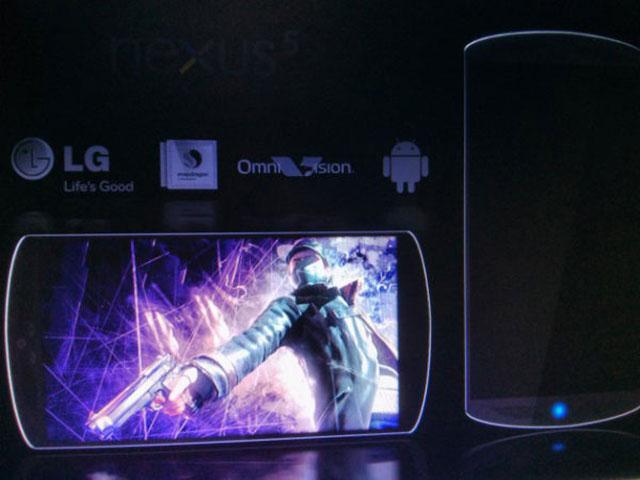 Une première image pour le Nexus 5 ?