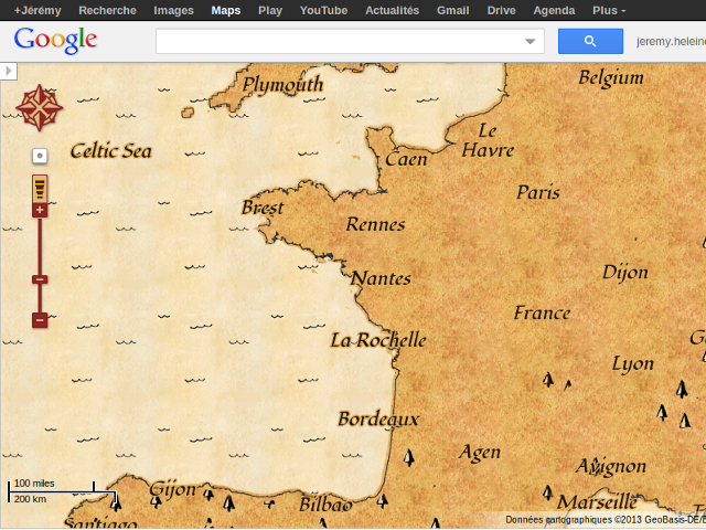 Un mode chasse aux trésors dans Google Maps