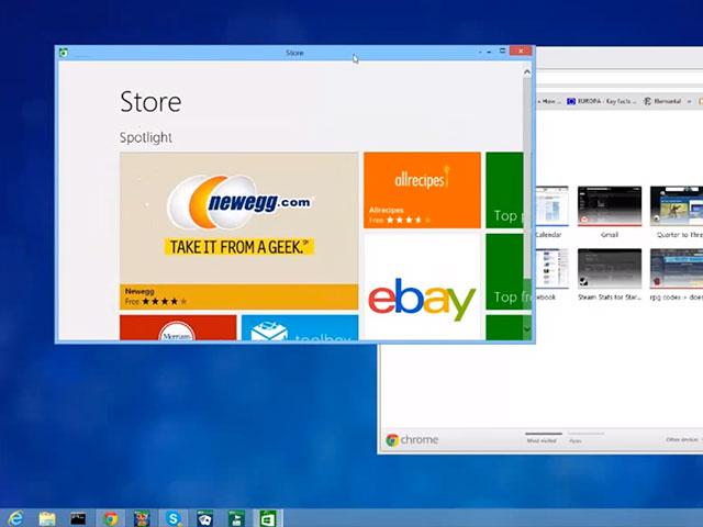 """ModernMix, pour ouvrir des applications """"Modern UI"""" sur le bureau de Windows 8"""