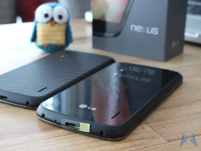Nexus 4 : un nouveau modèle avec des changements mineurs