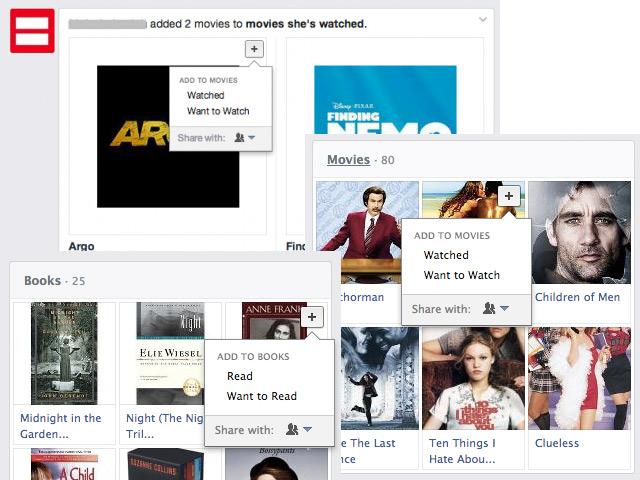 Nouvelle option de partage sur Facebook