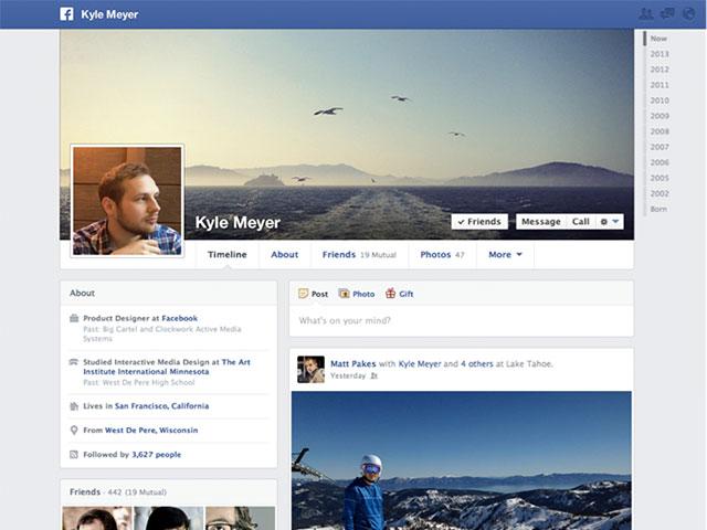 """Facebook : une nouvelle """"timeline"""" mieux structurée"""