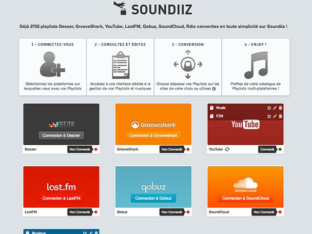 Soundiiz, la nouvelle version qui vous veut du bien