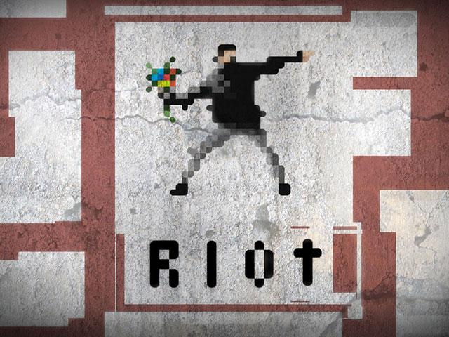 RIOT, un simulateur d'émeutes en Pixel Art