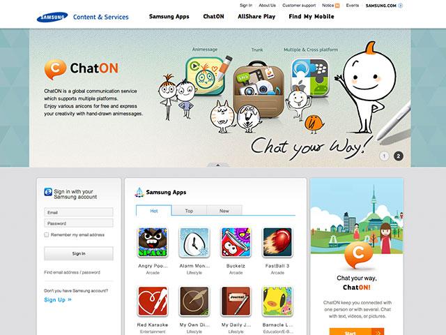 Samsung Content & Services