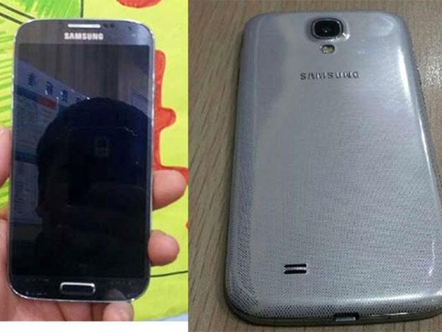 Samsung Galaxy S4 : recto et verso