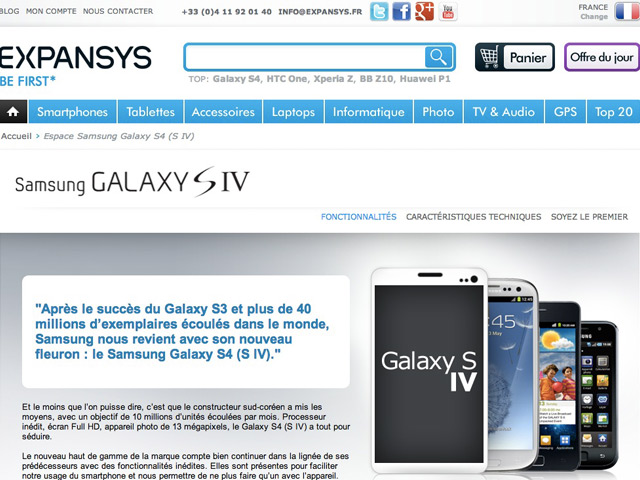 Samsung Galaxy S4 : attention aux fakes