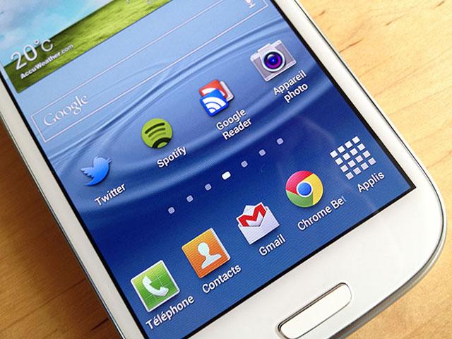 Samsung Galaxy S4 : pilotable avec les yeux ?