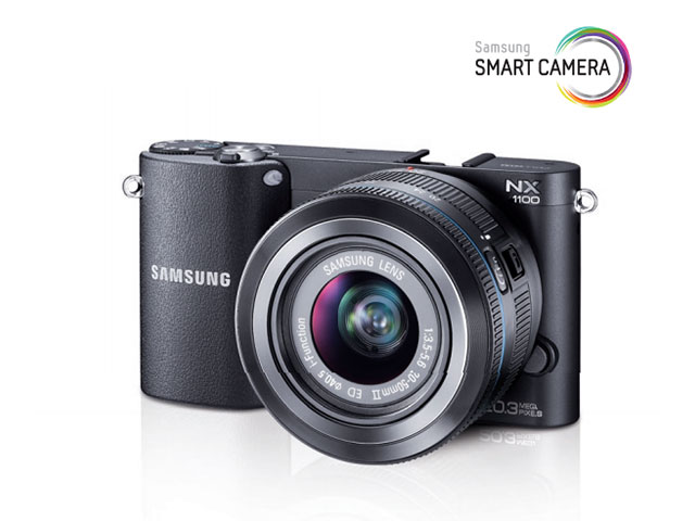 Samsung NX1100 : le manuel est en ligne