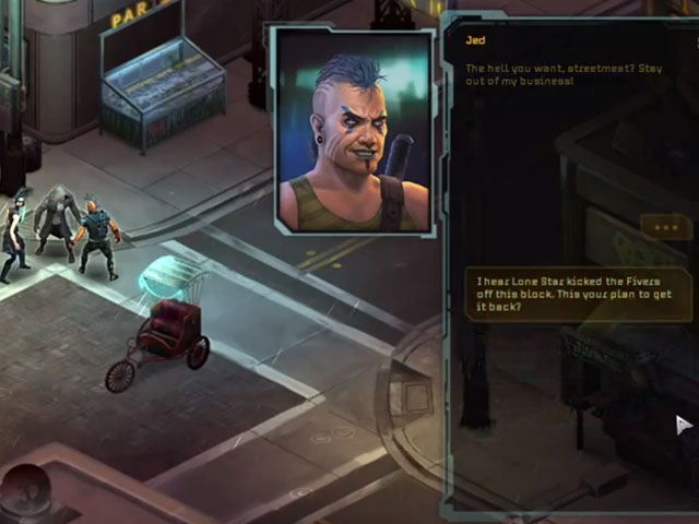 Shadowrun Returns : bientôt dispo sur Windows / OS X / iOS / Android