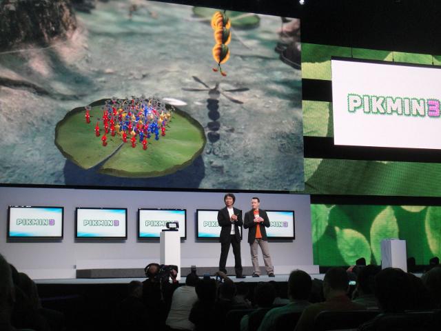 Shigeru Miyamoto et Pikmin