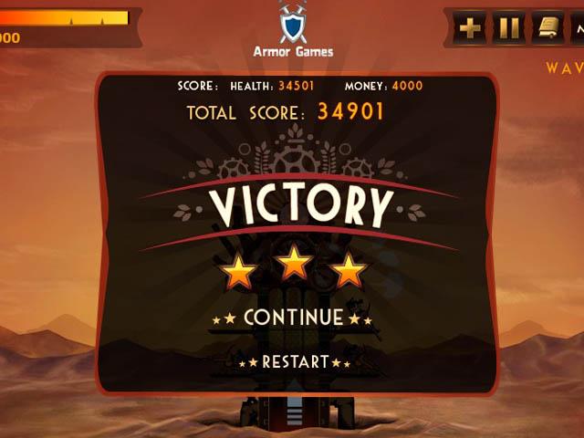 Steampunk Defense : une victoire éclatante