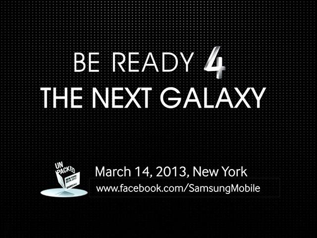 Teaser : Samsung Galaxy S4