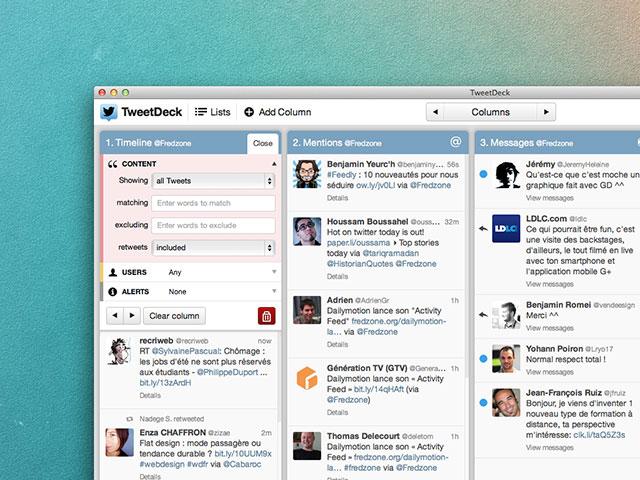 TweetDeck OS X