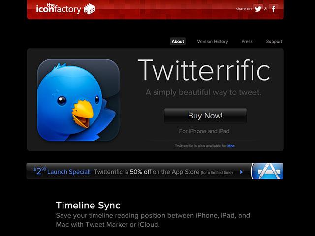 Twitterrific 5.2