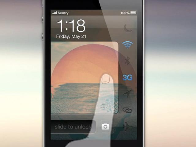 iOS : un concept pour l'écran de verrouillage