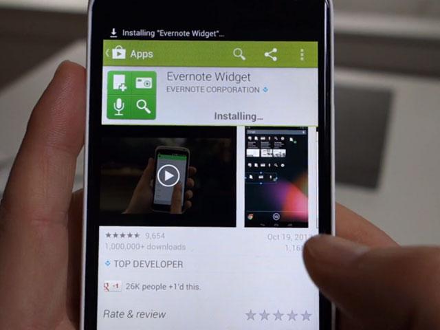 Google Play 4.0 en vidéo