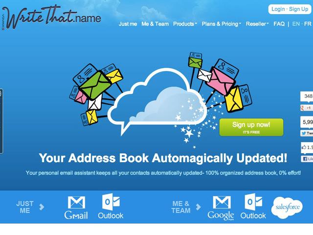 AddMe, le nouveau service des créateurs de WriteThatName