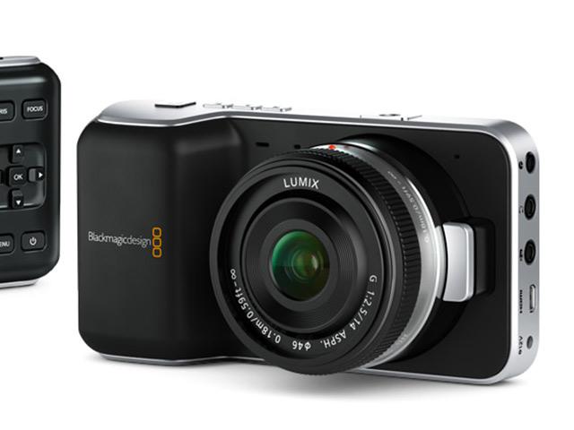 BlackMagic Pocket Cinema Camera : un design typique