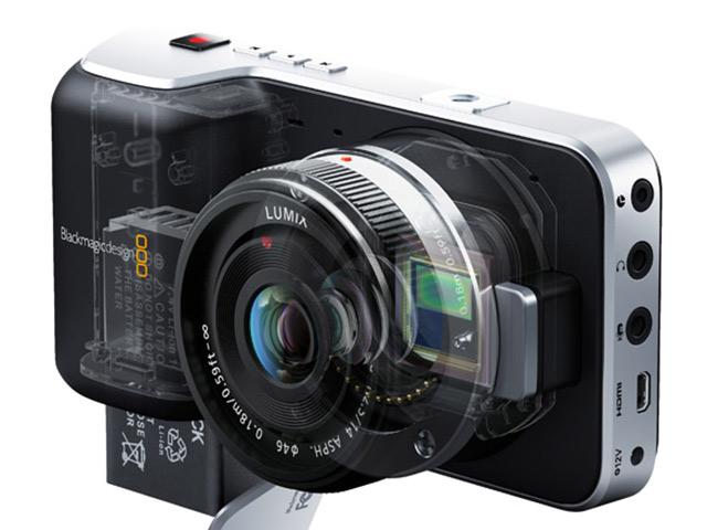 BlackMagic Pocket Cinema Camera : le capteur