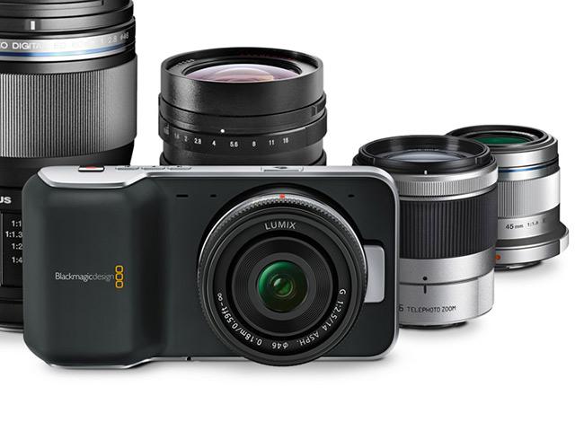BlackMagic Pocket Cinema Camera : micro 4/3