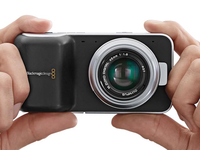 BlackMagic Pocket Cinema Camera : des dimensions très compactes