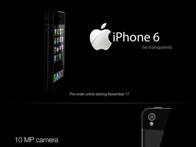 Concept iPhone 6 transparent