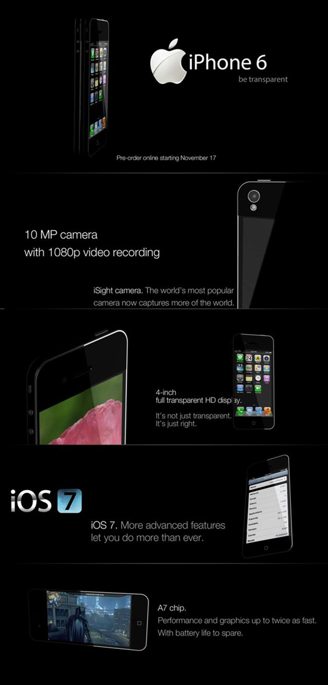 Concept iPhone 6 transparent (bis)