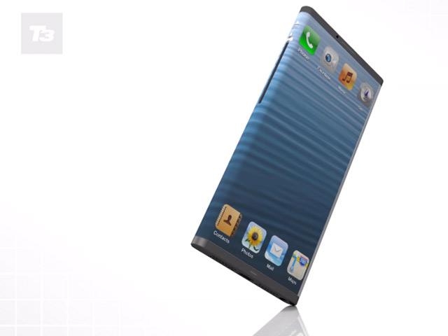 Concept iPhone 6 avec écran flexible